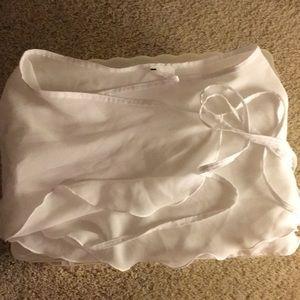 🛑 bogo Ballet or Dance skirt - never worn